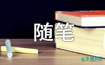 关于【荐】心情随笔作文赏析