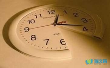 关于时间的说说赏析