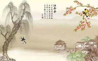 关于写江南春的诗句大全