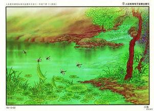 关于小池的诗句画