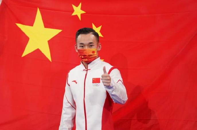 肖若腾:希望祖国为我骄傲 肖若腾金牌被黑?
